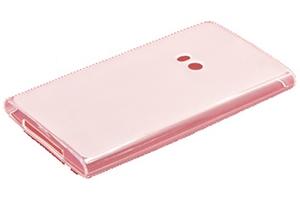 Силиконовый чехол на Nokia Lumia 920 TPU Case (белый прозрачный)
