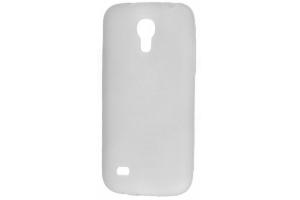 Силиконовый чехол для Samsung i9190 Galaxy S4 mini TPU Case (белый матовый)