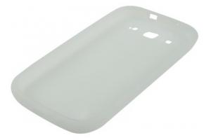 Силиконовый чехол для Samsung i9300 Galaxy SIII TPU Case (белый матовый)