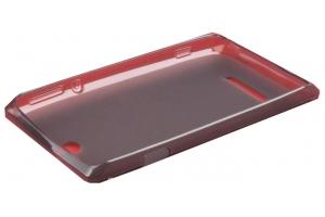 Силиконовый чехол для Sony Xperia P TPU Case (черный матовый)