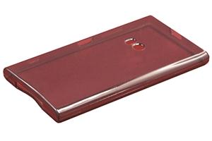 Силиконовый чехол на Nokia Lumia 920 TPU Case (черный прозрачный)
