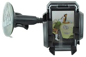 Автомоб. держатель на стекло усиленный + доп. крепежи (12 х 20 см.)