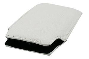Чехол/футляр для iPhone 3G/3GS/4/4S кожа (белый)