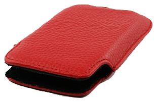 Чехол/футляр для iPhone 3G/3GS/4/4S кожа (красный)