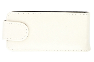 Чехол для Nokia 700 раскладной (кожа/белый)
