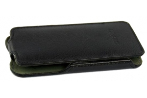"""Чехол для Samsung Galaxy Core Advance i8580 """"LP"""" раскладной кожа (черный)"""
