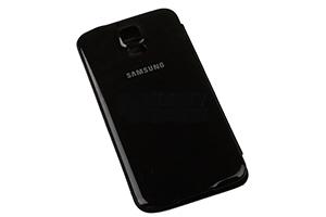 """Чехол для Samsung Galaxy S5 SM-G900F """"S View Cover"""" (черный)"""
