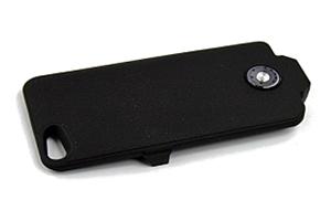 """Доп. АКБ защитная крышка для iPhone 5/5s """"Power Cases"""" 3000mA (черный матовый)"""