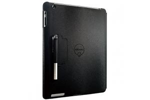 """Чехол для iPad 2/3/4 """"OZAKI"""" iCoat раскладной кожа (черный)"""