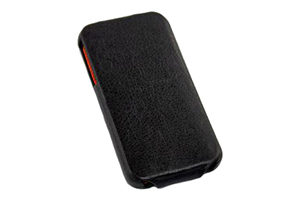 """Чехол для iPhone 4/4S """"FIGO"""" раскладной кожа (коричневый)"""