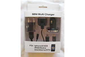 СЗУ/АЗУ/USB iPhone 4S/4/3G//micro-USB/mini-USB 5 в 1