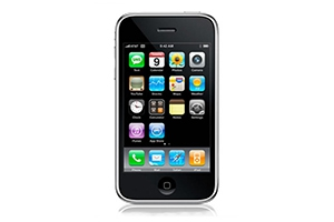 Муляж iPhone 3GS включается