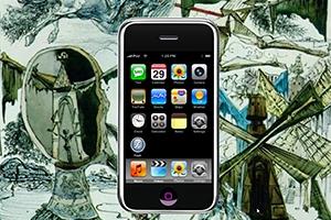"""iPhone Skin """"Аниме"""""""