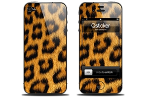 "iPhone Skin ""Орнамент Леопард"""