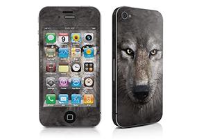 """iPhone Skin """"Волчонок"""""""