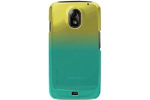 Защитная крышка Belkin для Samsung Galaxy Nexus i9250 (F8M279CWC01) (золотисто-зеленый)