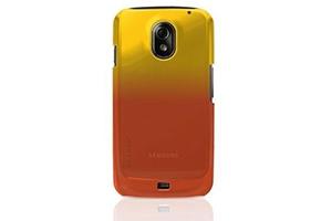 Защитная крышка Belkin для Samsung Galaxy Nexus i9250 (F8M279CWC02) (оранжево-золотистый)
