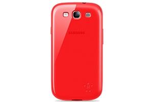 Защитная крышка Belkin для Samsung Galaxy S3 i9300 (F8M403CWC04) (рубиновый/матовый)