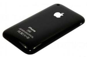 Задняя крышка для iPhone 3GS 16Gb (черный)