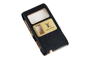 Защитная крышка для Nokia N8 LV (Сетка черный) (упаковка прозрачный бокс)
