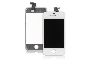 Дисплей LCD iPod Touch 4 с тачскрином (белый)