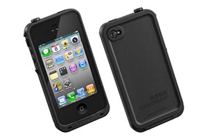 Чехол LifeProof для iPhone 4/4S (черный)