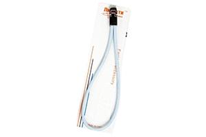 Шнурок на руку R5 круглый с подвижной пряжкой (голубой)