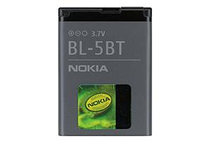 АКБ Nokia BL-5BT Li870 EURO 2:2 (2600C)