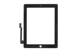 Тачскрин (сенсорное стекло) iPad 3 NEW/iPad 4 (черный)