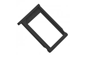 Держатель SIM-карты iPhone 3G черный (пластик)