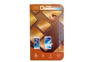Защитное стекло дляiPhone 5/5S/5C Tempered Glass 0,33 мм 9H (золотое/ударопрочное)