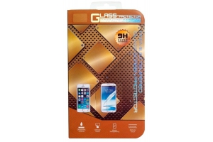Защитное стекло дляiPhone 5/5S/5C Tempered Glass 0,33мм 9H (двойное/золотое/ударопрочное)