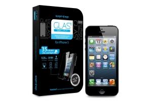 """Защитное стекло """"LP"""" дляiPhone 5/5S/5C Tempered Glass 0,33 мм 9H (прозрачное/ударопрочное)"""