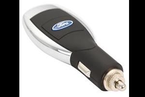 АЗУ универсальное Ford (Черный, 6 разъемов + USB) (коробка)