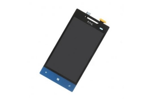 Дисплей HTC 8S Windows Phone синий, с тачскрином