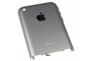 Задняя крышка для iPhone 2G (серебро)