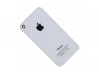 Задняя крышка для iPhone 4 копия (Белый) (упаковка прозрачный бокс)