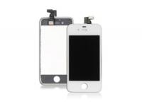 Дисплей LCD iPhone 5 (белый) в сборе с тачскрином, динамиком, кнопкой Home, камерой