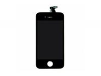 Дисплей LCD iPhone 5 (черный) в сборе с тачскрином, динамиком, кнопкой Home, камерой