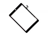 Тачскрин (сенсорное стекло) iPad Air (черный) 1-я категория