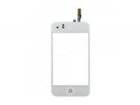 Тачскрин (сенсорное стекло) iPhone 3G  1-я категория (белый)