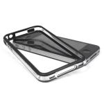 Bumpers для iPhone 4/4S (прозрачный/черный)