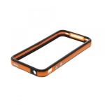 Bumpers для iPhone 4/4S (оранжевый/черный)