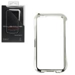Bumper CLEAVE для iPhone 5 металл/винты (серебро)