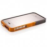 Bumper Element Vapor Pro Ops для iPhone 4/4S металл черный/оранжевый (чехол+наклейка)