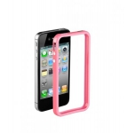 Bumpers для iPhone 4/4S (розовый)