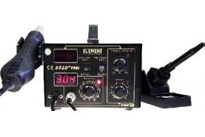 Паяльная станция ELEMENT 852D+FAN