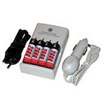 Зарядные устройства для AA/AAA аккумуляторов