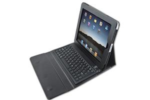 """Чехол/книжка """"LP"""" (ST-BRK3500BC) на iPad удлиненный с bluetooth клавиатурой (кожа/черный)"""