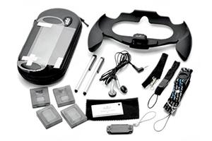 Набор 16 в 1 для PS Vita PEGA (руль/зарядка в авто/пленки/кейс/ремешок...) PG-PVT01